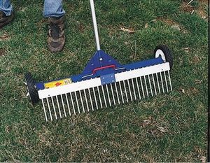 AJC Rolling Magnetic Sweeper Rake Attachment