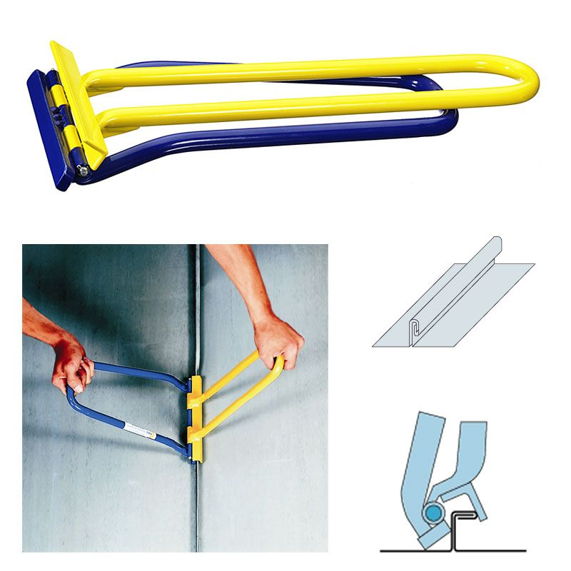 Double Lock Standing Seam Metal Roof Seamer Tool