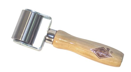 Double Fork Seam Roller Wood Handle Seam Rollers For
