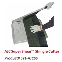 The AJC Super Shear Shingle Cutter is one of the best roofing tools on the market