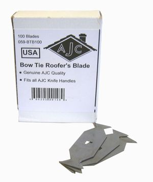 Roofing Razor Blade Bowtie Blades For Residential