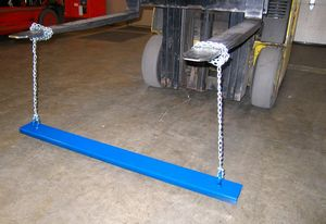 48 Inch Hanging Forklift Magnetic Sweeper