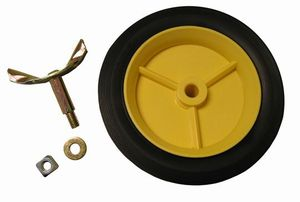 Rolling Magnetic Sweeper Replacement Wheel and Assembly (pair)